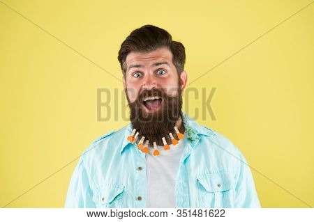 Bearded Man. Bearded Man Hipster Casual Style. Valentines Day. Love Care My Beard Hair. Laundry. Hai