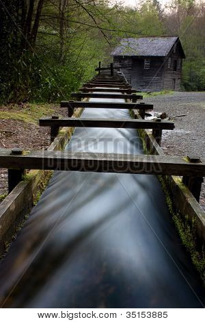 Grist Mill at Smoky Mountain National Park