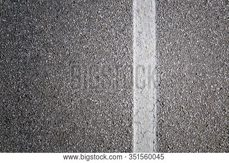 White line on the road background