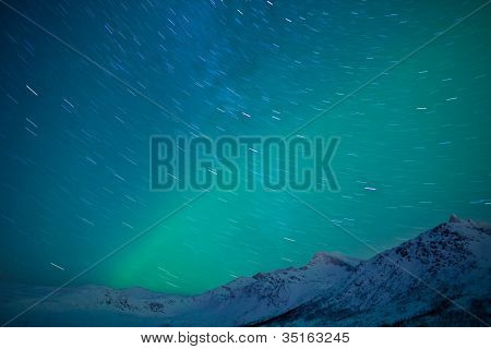 Polarlichter (Aurora Borealis)
