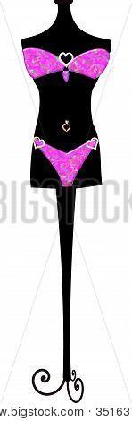 bikini manequin