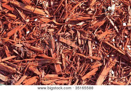 Red Sawdust Pattern