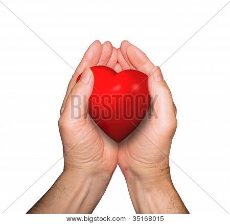 Heart In Cupped Hands