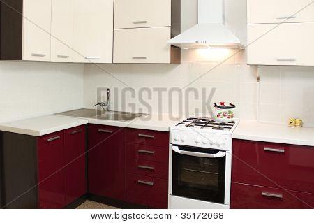 Domestic Kitchen interior design