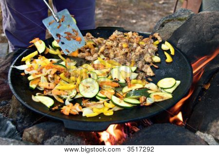 Outdoor Stirfry