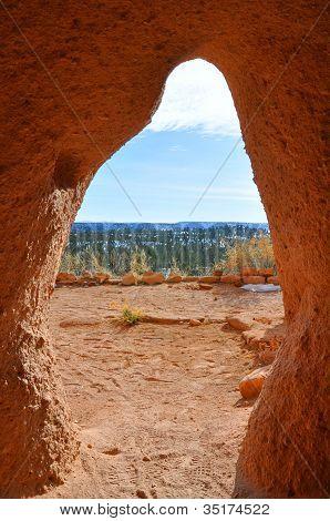 Cave in Pojoaque