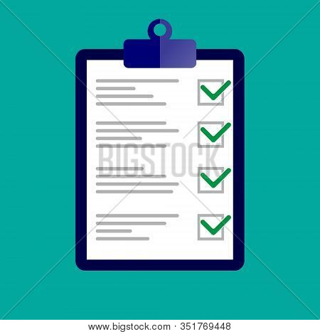 Compliance Inspection Approved - Vector Illustration. Eps 10