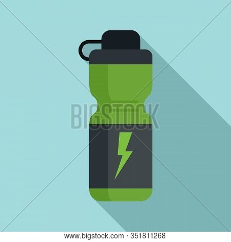 Boost Energy Drink Icon. Flat Illustration Of Boost Energy Drink Vector Icon For Web Design