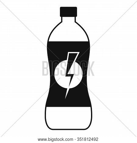 Soda Energy Drink Icon. Simple Illustration Of Soda Energy Drink Vector Icon For Web Design Isolated