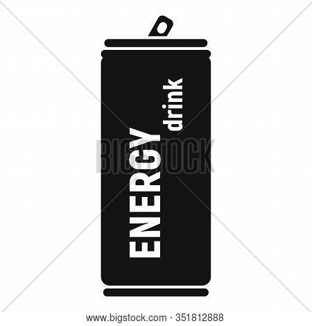 Tonic Energy Drink Icon. Simple Illustration Of Tonic Energy Drink Vector Icon For Web Design Isolat