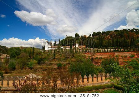 The Generalife Of The Alhambra