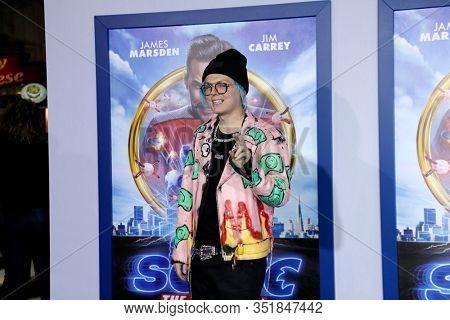 LOS ANGELES - FEB 12:  Sueco the Child Rapper at the