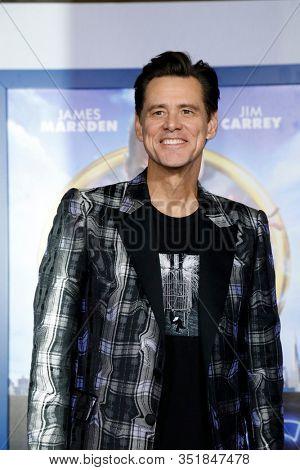 LOS ANGELES - FEB 12:  Jim Carrey at the