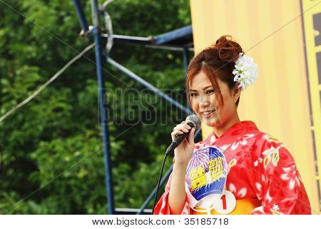 Miss Fuji Beauty On Main Stage