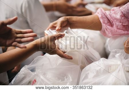 Concept Of Charity Food For The Poor : The Concept Of Life Problems, Hunger In Society : Helping Peo