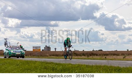 The French Cyclist Rolland Pierre