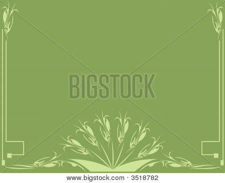 Classical Green Background