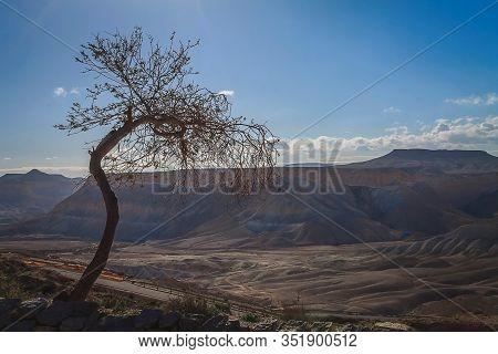 Picture of the Negev Desert taken Sde Boker.