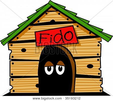 Dog House Clip Art