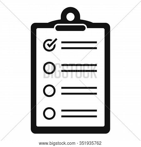 Inventory Checkboard Icon. Simple Illustration Of Inventory Checkboard Vector Icon For Web Design Is