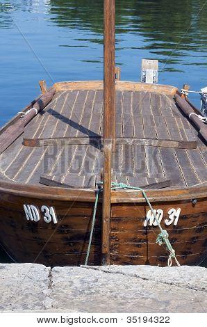 Docked Boat