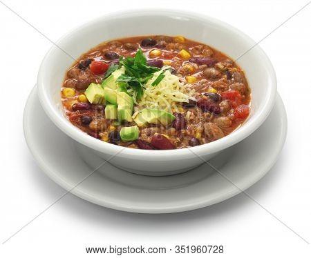 easy taco soup, american food