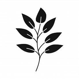Vector Design Of Leaf And Coffee Logo. Collection Of Leaf And Plant Stock Vector Illustration.