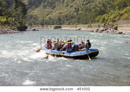 Whitewater Rafting - Nepal