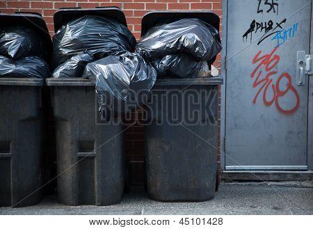 Urban Trash Cans