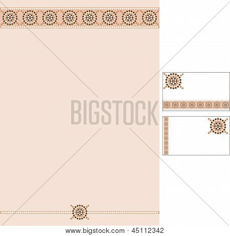 Business Style Templates For Your Project Design, Vector Illustration