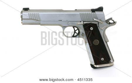 45 Caliber Pistol