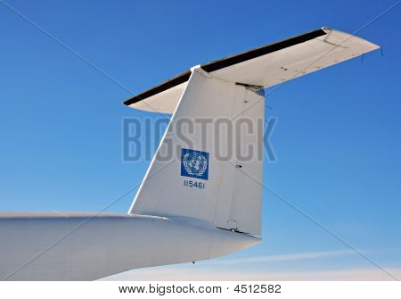 United Nations Airplane