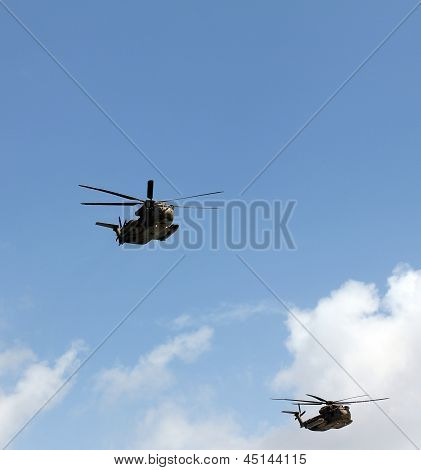 Israeli Air Force Helicopters
