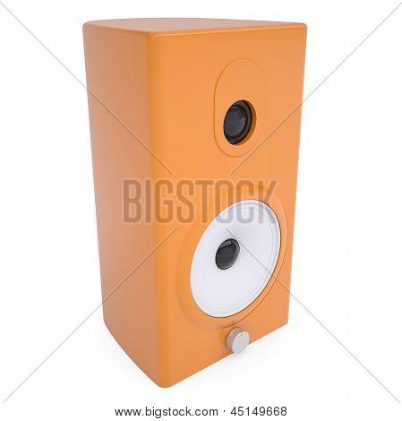 Orange music column