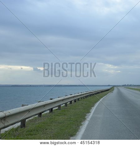 Highway And Ocean