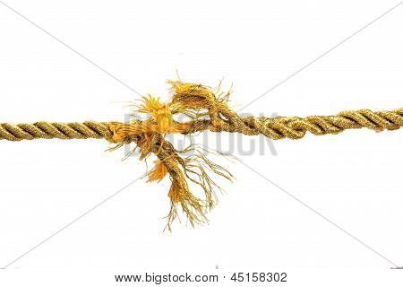 Torn Gold Rope