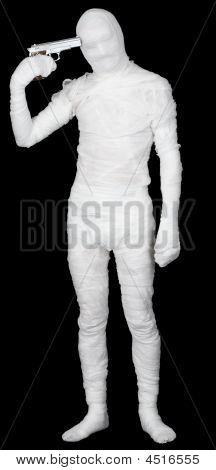The Bandaged Man Self-murderer