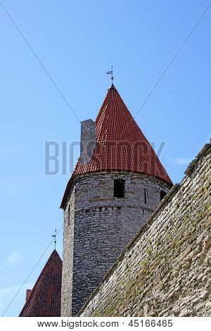 Wall And Tower