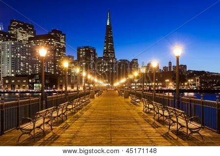 Pier 7 In San Francisco