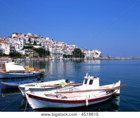 The Port Of Skopelos
