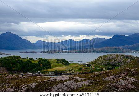 View from Applecross peninsula