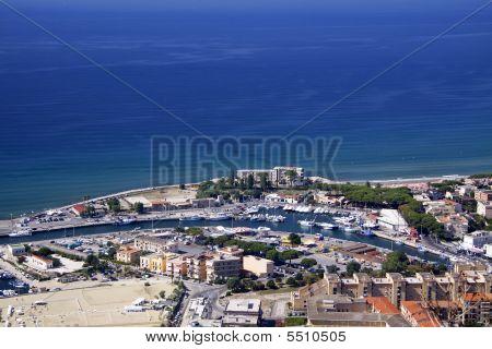 Terracina Coast Line