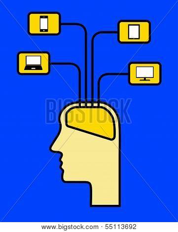 Head Using Media