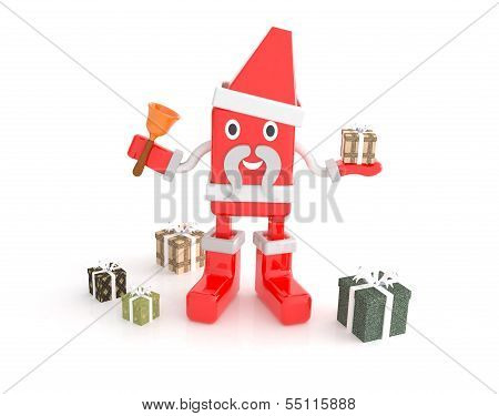 Santa Claus - 3D Cartoon Character