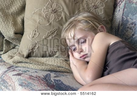 Sleeping Child.