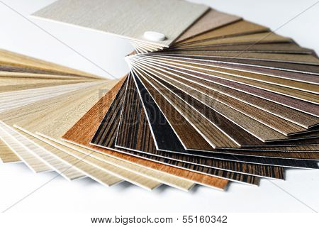 Thin Wooden Samples Sheaf
