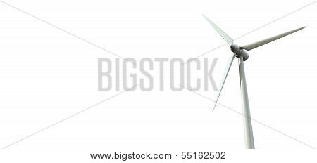 Wind Turbine Single Front