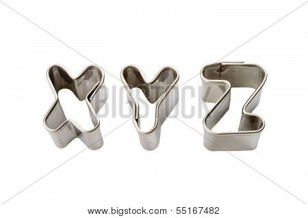 Xyz Baking Tins