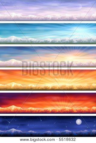 Day Cycle (mountainous Landscape)