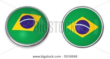 Banner Button Brazil